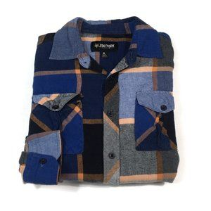 BF500 Zoo York 2 Pocket Flannel Button Shirt S
